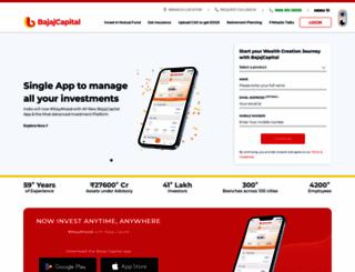 bajajcapital.com screenshot
