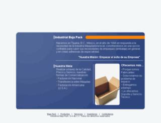bajapack.com.mx screenshot