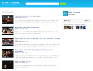 bajar-youtube.com screenshot