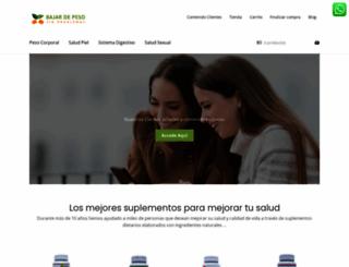 bajardepesosinproblemas.com.co screenshot
