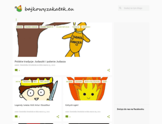 bajkowyzakatek.eu screenshot