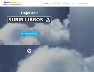 bajofacil.com screenshot