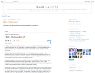 bajolalupa.blogspot.com screenshot