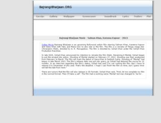 bajrangibhaijaan.org screenshot