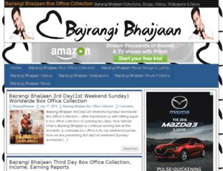 bajrangibhaijaanboxoffice.com screenshot