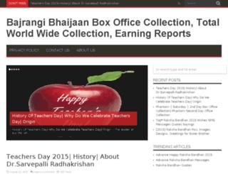 bajrangibhaijaanboxofficecollections.in screenshot