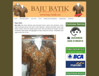 baju-batik.net screenshot