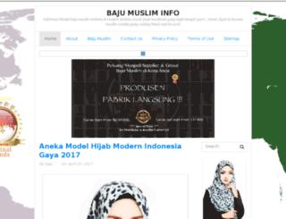 baju-muslim.info screenshot
