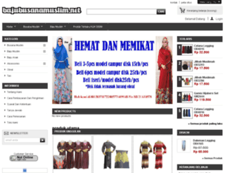 bajubusanamuslim.net screenshot
