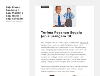 bajumurah-bandung.com screenshot