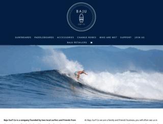 bajusurf.com screenshot