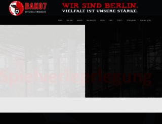 bak07.de screenshot