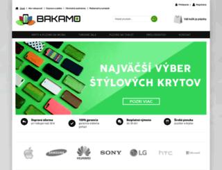 bakamo.sk screenshot