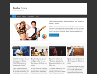 bakbanews.wordpress.com screenshot