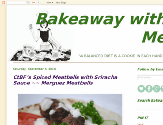 bakeawaywithme.com screenshot