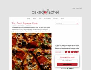 bakedbyrachel.com screenshot