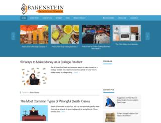 bakenstein.com screenshot
