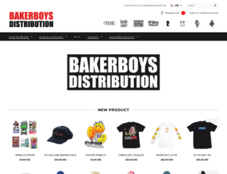 bakerboysdist.com screenshot