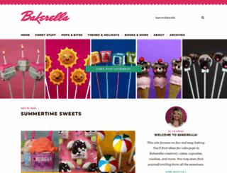 bakerella.com screenshot