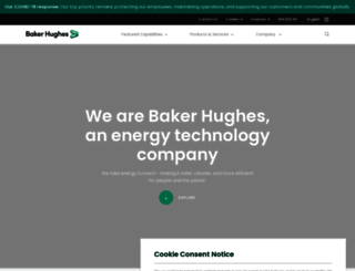 bakerhughes.com screenshot