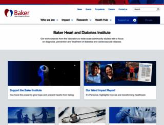 bakeridi.edu.au screenshot