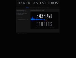 bakerland.co.uk screenshot