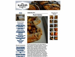 bakersdaughter.typepad.com screenshot