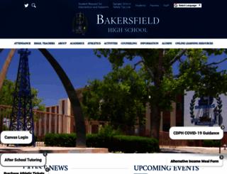 bakersfield.kernhigh.org screenshot