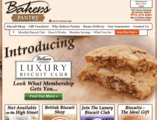 bakerspantry.co.uk screenshot