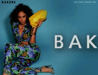 bakersshoes.com screenshot