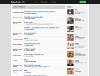bakertrade.com screenshot