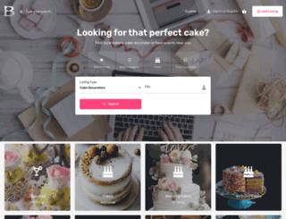 bakerylist.com screenshot
