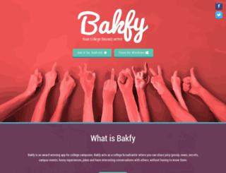 bakfy.me screenshot