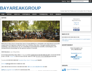 bakgroup.ning.com screenshot