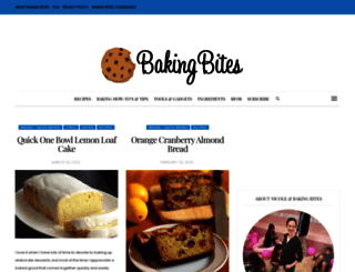 bakingbites.com screenshot