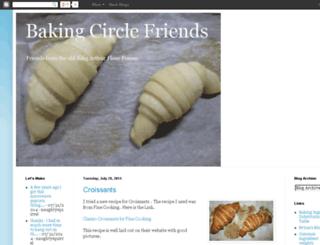 bakingcirclefriends.blogspot.com screenshot