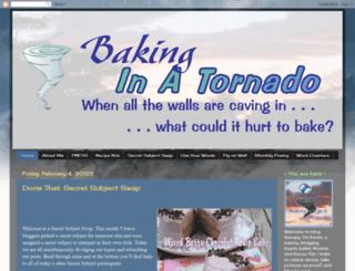 bakinginatornado.com screenshot
