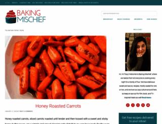 bakingmischief.com screenshot