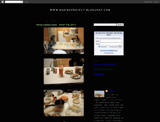bakingproject.blogspot.com screenshot