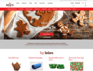 bakingtin.com screenshot