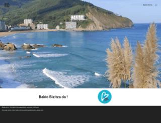 bakio.com screenshot