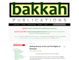bakkah.net screenshot