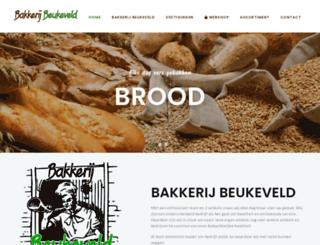 bakkerijbeukeveld.nl screenshot