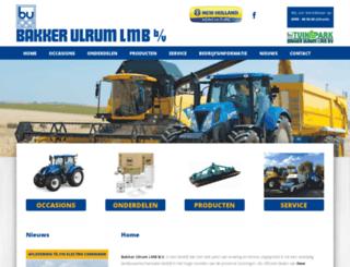 bakkerulrum.nl screenshot