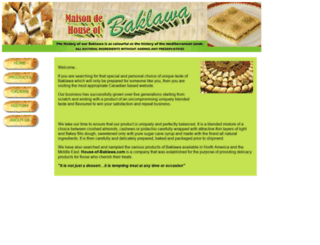 baklawamaster.com screenshot