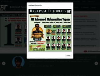bakliwaltutorialsiit.com screenshot