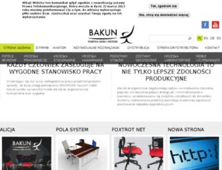 bakun.com.pl screenshot