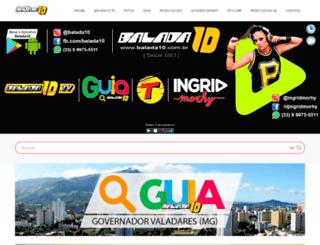 balada10.com.br screenshot