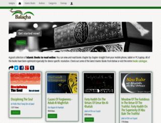 balagha.net screenshot