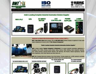 balaji-microtechnologies.com screenshot